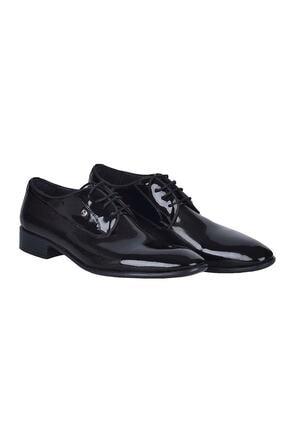 Pierre Cardin Erkek Siyah Rugan Ayakkabı 0