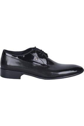 Pierre Cardin Erkek Siyah Rugan Ayakkabı 1