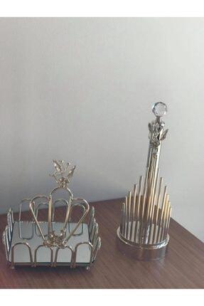 Japongülü Peçetelik gümüş peçetelik