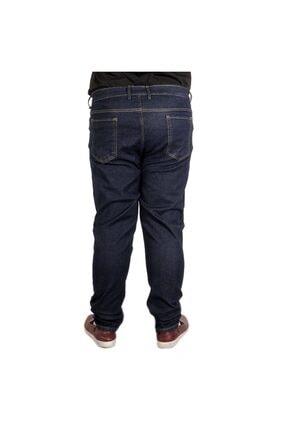 Modexl Büyük Beden Erkek Pantolon Kot 20903 Lacivert 1
