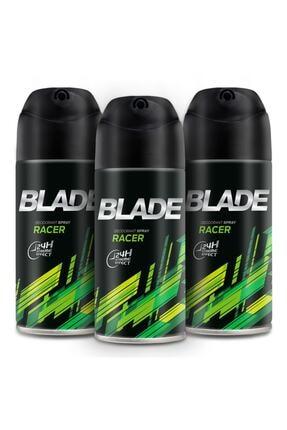 Blade Racer Erkek Deodorant 3x150ml 0