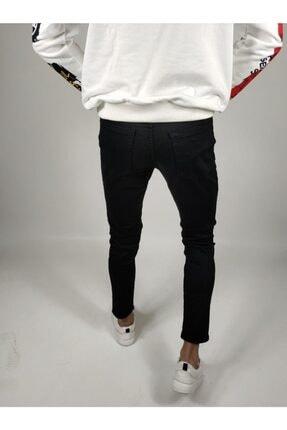 ukdwear Erkek Siyah Italyan Kesim Kot Pantolon 3