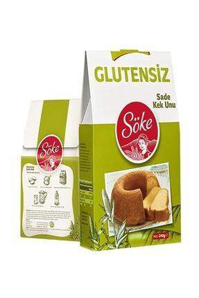 Söke Glutensiz Sade Kek Unu 240 gr 0