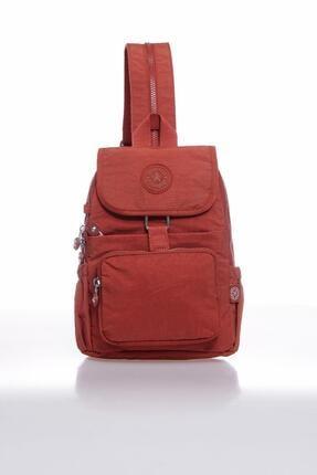 Smart Bags Kadın Kiremit Rengi Sırt Çantası 0