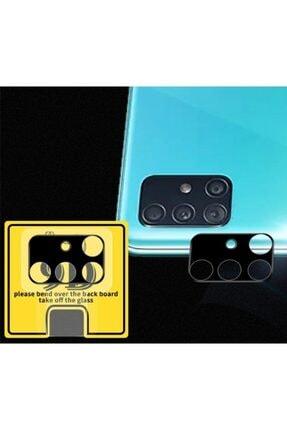 Ally Mobile Sm Galaxy A51 Hd 3d Full Tempered Cam Kamera Koruyucu - Siyah 3
