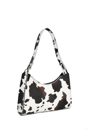 Housebags Kadın Kahverengi Baguette Çanta 195 1