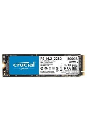 Crucial P2 Ct500p2ssd8 500 Gb 2300-940 Mb/s Nvme Pcıe M.2 Ssd 0