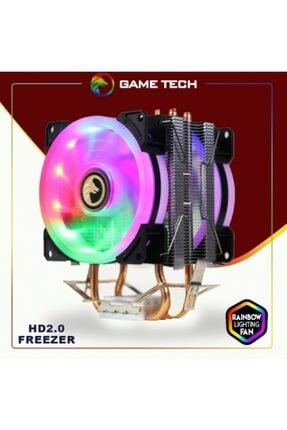 GAMETECH Freezer Hd2.0 Amd/ıntel Raınbow Işlemci Fanı 0