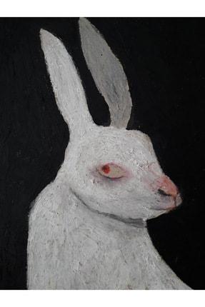 Sümeyra Yüce Duran Tavşan, 40x40, Mdf Üzerine Karışık Teknik 1