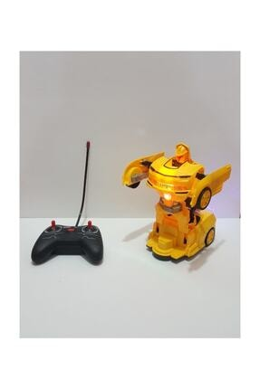 transformers Uzaktan Kumandalı Robot Olan Araba Bumble Bee 0