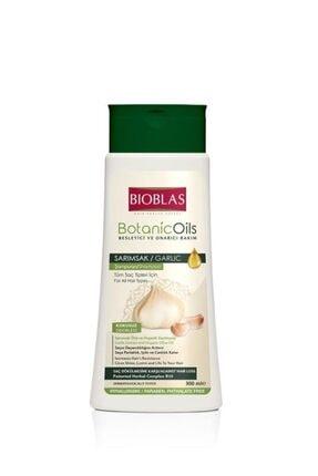 Bioblas Botanic Oils Şampuan Sarımsak 300ml 0