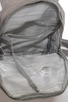 Smart Bags Kadın Gri Sırt Çantası Smbk1138-0078 3