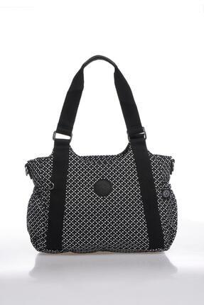 Smart Bags Kadın Siyah Beyaz Omuz Çantası Smbk1163-0127 0