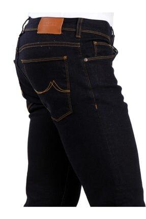 Dufy Koyu Lacivert Erkek Kot Pantolon - Slım Fıt Jeans 2