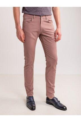 Dufy Lila Pamuklu Likra Erkek Pantolon 0
