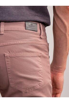 Dufy Lila Pamuklu Likra Erkek Pantolon 2