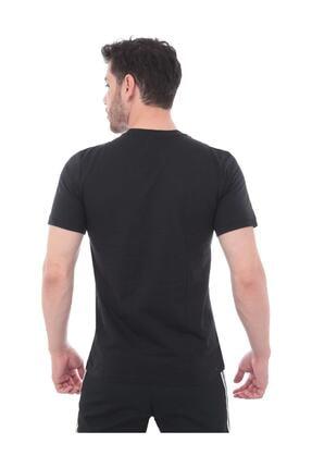adidas Erkek Siyah Essentials Plain Tişört Ss19 2