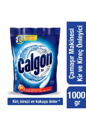 Calgon Çamaşır Makinesi Kireç Önleyici Toz 1000 gr 0