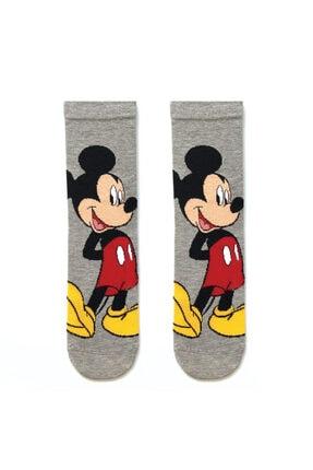 Socks Stations Unisex Renkli 5'li Mickey ve Minnie Mouse Çorap Kutusu 1