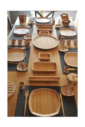 Bambum Kahverengi 57 Parça Kahvaltı Seti 0