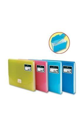 Faber Castell Faber-castell Körüklü Dosya Neon Serisi Sarı 0