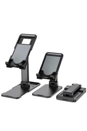 Premium Ticaret Portatif Ayarlanabilir Katlanır Telefon Ve Tablet Masaüstü Standı Tutucu 0