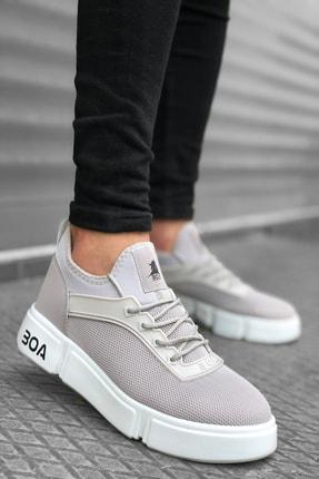 Mida Shoes Gri Bt Spor Sneakers 1