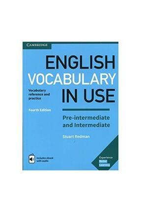 Cambridge University Press English Vocabulary In Use + Cd Full Set 4 Lü Paket 2