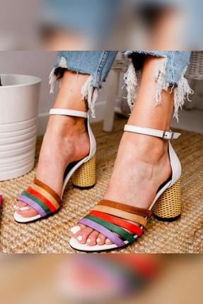 Limoya Klasik Topuklu Ayakkabı