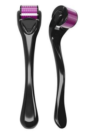 Lusso Cosmetics Siyah 540 Iğneli 0,75mm Titanyum Dermaroller 0