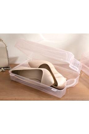English Home Pudra Loya Plastik Kadın Ayakkabısı Saklama Kutusu 33x18x10cm 1