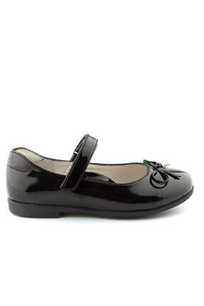 Siyah Rugan E Ortopedik Kız Cocuk Ayakkabı 1000891KB