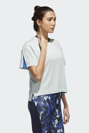 adidas Kadın Beyaz Günlük Giyim T-shirt W U-4-u Tee Gg3419 3