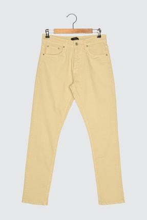 تصویر از Bej Erkek Skinny Fit Pantolon TMNSS21PL0236
