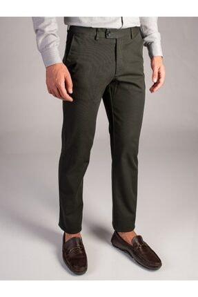 Yeşil Büyük Beden Düz Erkek Pantolon - Battal DU1184161002