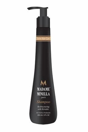 MADAME MİNELLA Madame Mınella Onarıcı Keratın Bakım Şampuanı 250 Ml 0