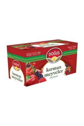 Doğuş Çay Kırmızı Meyveler Süzen Poşet Karışık Meyve Çayı 20'li 0