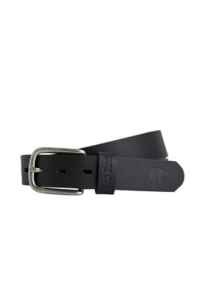Bad Bear Spırıt Belt Siyah Deri Kemer 0