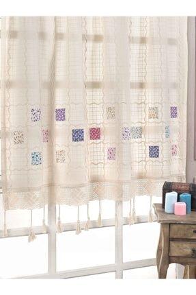 Buldan CSN Tekstil %100 Pamuklu Patchwork Buldan Perde 0