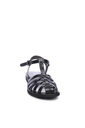 Kemal Tanca Kadın Derı Sandalet Sandalet 649 67 Bn Snd 1