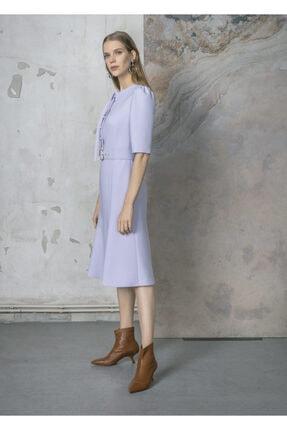BİRELİN Krep Elbise 1