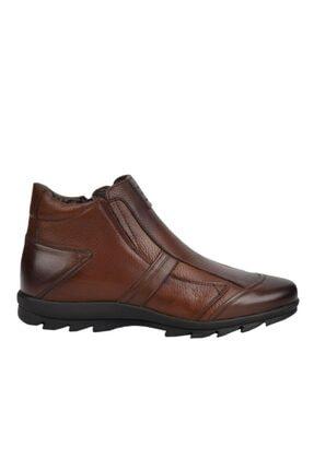 MARCOMEN 09717 Kahve %100 Deri Casual Erkek Bot Ayakkabı 0