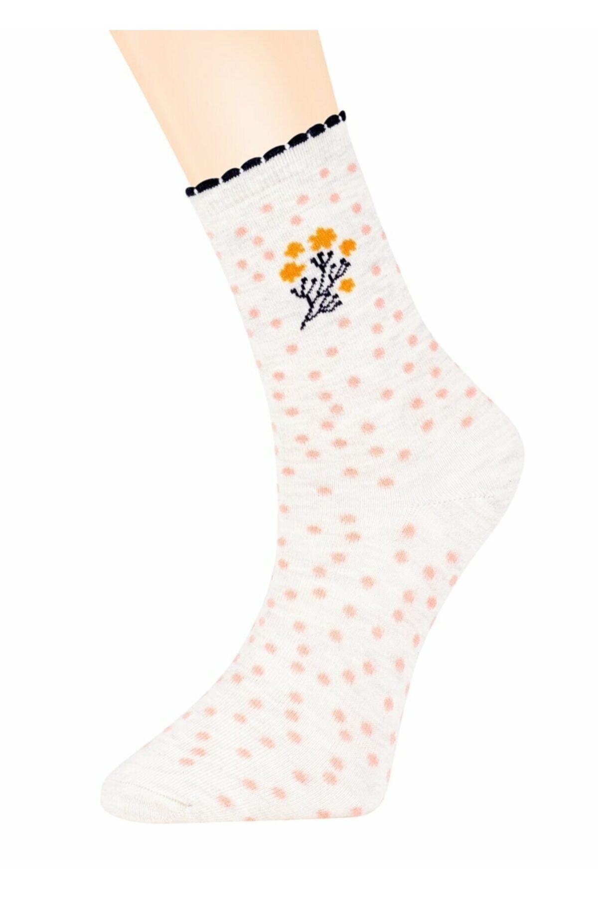 Suwen Bouquet Soket Çorap