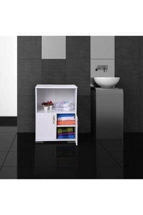 Remaks Çok Amaçlı Set Altı Dolap Mutfak Mikrodalga Fırın Dolabı - Beyaz 1