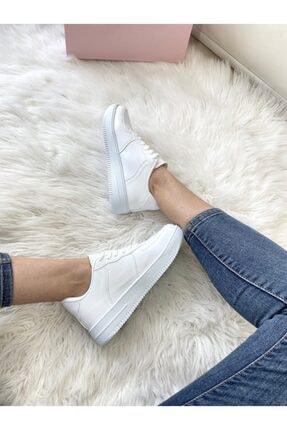 ELSESHOES Unısex Beyaz Sneaker 2