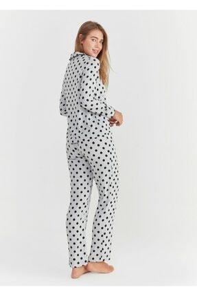 Suwen Pointy Maskulen Pijama Takımı 3