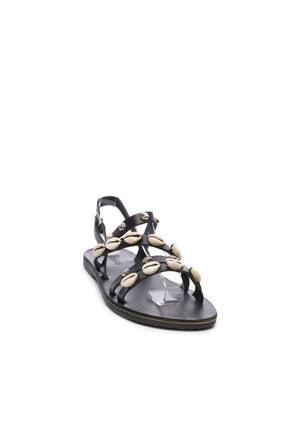 Kemal Tanca Kadın Derı Sandalet Sandalet 607 1986 Byn Sndlt Y19 1
