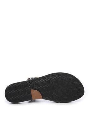 Kemal Tanca Kadın Derı Sandalet Sandalet 607 1986 Byn Sndlt Y19 3