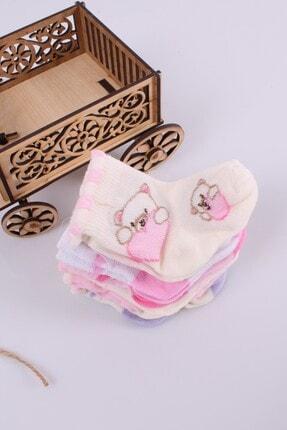 Babydonat Kız Bebek Çorabı 6 Adet 0-3 Ay 3
