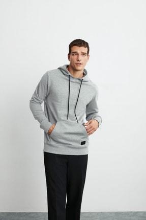 GRIMELANGE Jorge Erkek Grimelanj Basic Kapüşonlu Sweatshirt 1